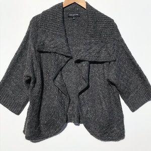 JONES NEW YORK angora sweater shrug
